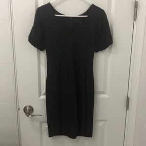 French Connection dark grey dress